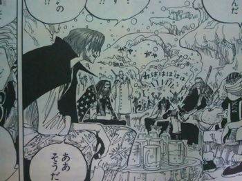 ONE PIECE Red- HearedShanks  5.jpg宴をやっているシーン