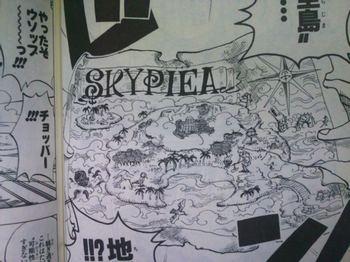 ONE PIECE SKYPEA (10).jpgセントブリス号から見つけたスカイピアの地図!なんとこの2つの地図は合わせると