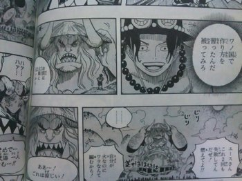 ONE PIECE Wano country ワンピース ワノ国に来ていたエース